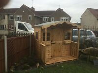 6ft x 6ft playhouse/ Wendy house