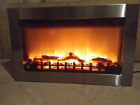 Electronic Fireplace. Multi-Function with heat