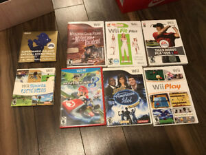 Wii console with lots of extras for sale