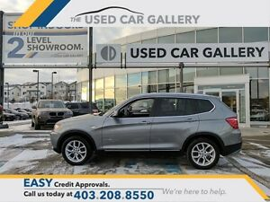 2014 BMW X3 xDrive28i, AWD, Navigation, rear view camera!