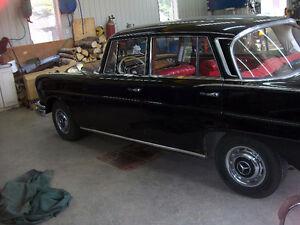 mercedes 220s 1960