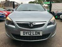 2012 Vauxhall Astra 1.4i 16V SRi 5dr HATCHBACK Petrol Manual