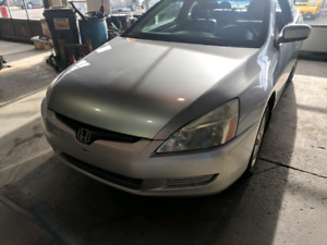2004 honda accord coupe new clutch!