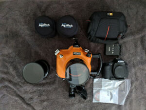 Aquatech CO-7 with Canon 7D body