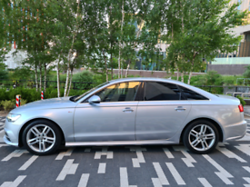 2015 AUDI A6 2.0 TDI ULTRA 190 S LINE SALOON S-TRONIC AUTO + 1 OWNER
