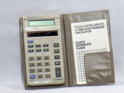 Texas Instruments TI-1706 Calculator C-1183
