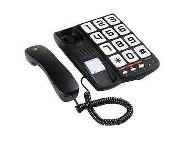 TOPCOM SOLOGIC T101 SENIOREN TELEFON ANALOG GROßE TASTEN HÖRGERÄT KOMPATIBEL