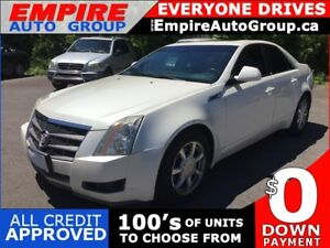 2008 CADILLAC CTS RWD * LEATHER * HEATED SEATS * PANO ROOF