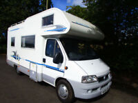 Adria Coral 630DH four or five berth motorhome with end kitchen for sale