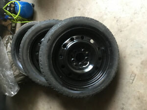 3 rims  on 16 inch tires