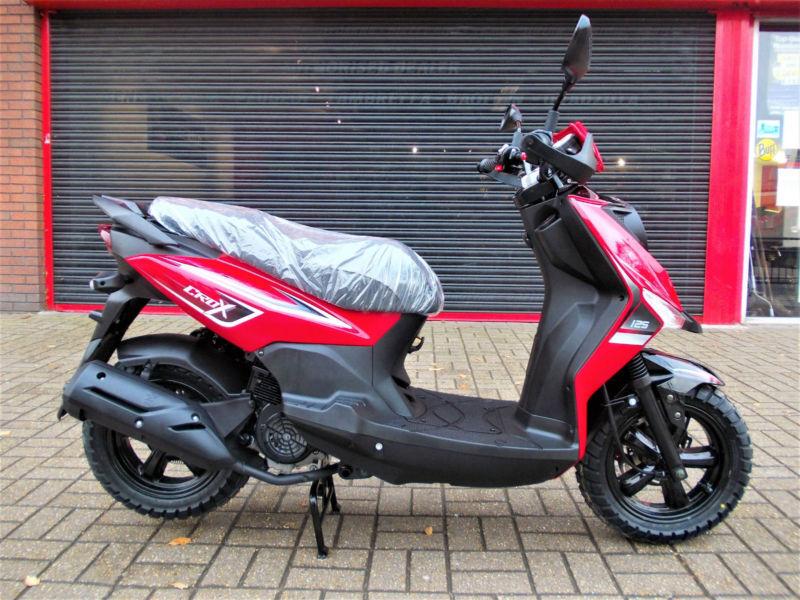 Sym crox 125 scooter brand new 5 year warranty finance for Yamaha motor finance usa login