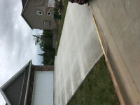 Concrete steps driveways and more!!!!!