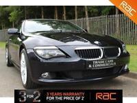 2009 09 BMW 6 SERIES 3.0 635D EDITION SPORT 2D AUTO 282 BHP DIESEL