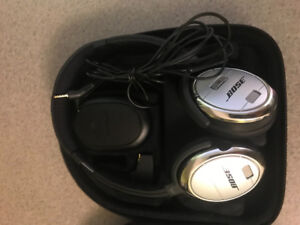 Bose QC 25 headphones - wired