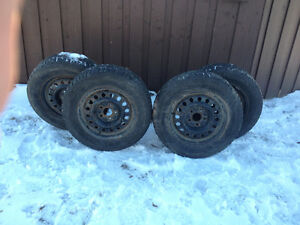 Dodge Journey rims with winter tires