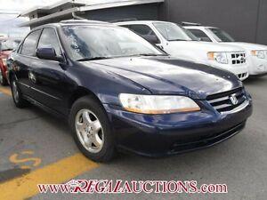 2002 HONDA ACCORD EX 4D SEDAN V6 EX