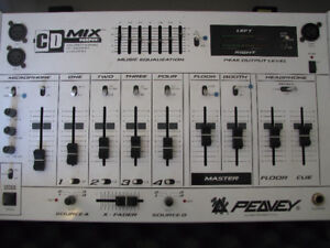 Peavy CD Mix Nine - Four Channel Mixer With Case