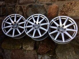 Audi TT single spoke alloy wheels