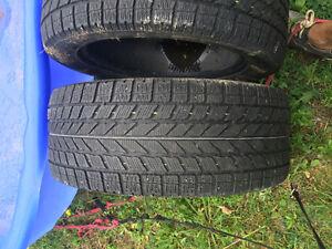 Différents set de pneu d'hiver