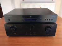 Marantz Amp and Cambridge Audio CD Player