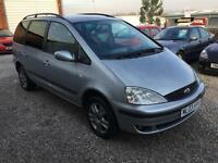 2003 03 Silver Ford Galaxy 1.9TD ( 130ps ) Ghia