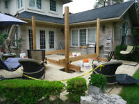 Deck builder Mississauga Oakville