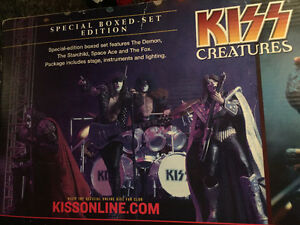 Mcfarlane, music, figure, KISS, BOXSET with lights, silver .999 Edmonton Edmonton Area image 4