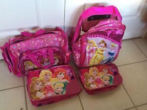 Princess 4 pc luggage carry-on luggage