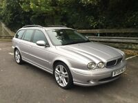Jaguar Xtype 2.2D sport estate, fully loaded