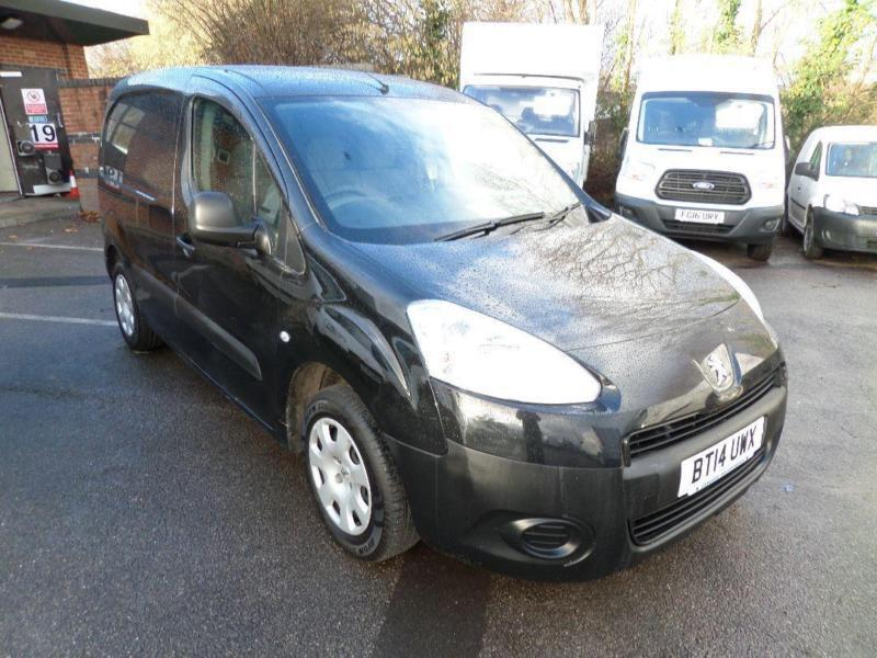 Peugeot Partner 625 1.6 Hdi 75 Professional Van DIESEL MANUAL BLACK (2014)