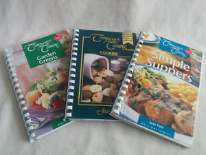 3 Company's Coming Cooking Book Bundle