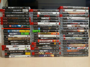 PS3 Games - ( $15 EACH or 4 for $50) PICK UP ONLY Playstation 3