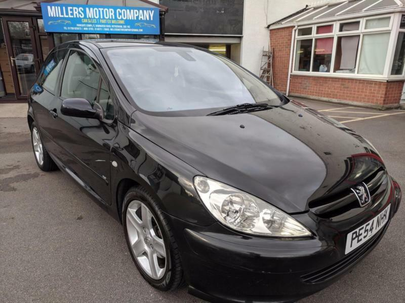 2004 Peugeot 3071.6HDi XSi | DIESEL | MANUAL | HATCHBACK | BLACK