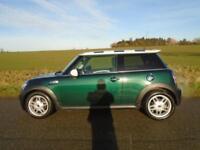 2009/59 MINI HATCH 1.6 COOPER S 3DR BRITISH RACING GREEN - 175 BHP - GREAT SPEC!