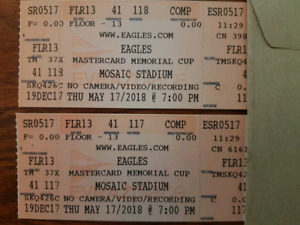 Eagles tickets - (below cost)