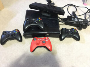 XBOX 360 SLIM 250GB + MANY GAMES AND ACCESSORIES