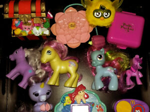 Furby Furbling, Polly Pockets, My Little Pony, Disney Videogames