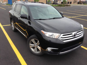 2011 Toyota Highlander VUS LIMITED( 7 passagers)