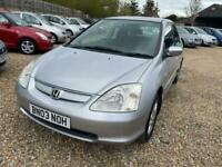 2003 Honda Civic 1.6 i-VTEC Imagine 5dr Hatchback Petrol Automatic