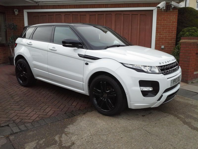 2012 land rover range rover evoque 2 2sd4 dynamic lux auto overfinch in romford london gumtree. Black Bedroom Furniture Sets. Home Design Ideas