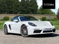 2018 Porsche 718 BOXSTER 2.0T PDK (s/s) 2dr Automatic Convertible Petrol Automat