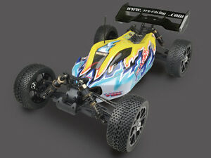 VRX Racing Blast BX 4WD 1/8 RC Buggy RTR LIPO Brushless 70km/h