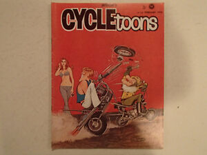 Pedersen's CYCLETOONS Number 13 February 1970. VGC RARE.