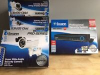 BOXED NEW SWANN PRO SECURITY SYSTEM 9 CHANNEL 500GB 9 CAMERA KIT CCTV COMPLETE SYSTEM BARGAIN