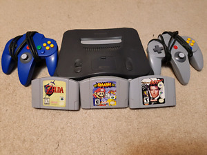 Nintendo 64 with games N64