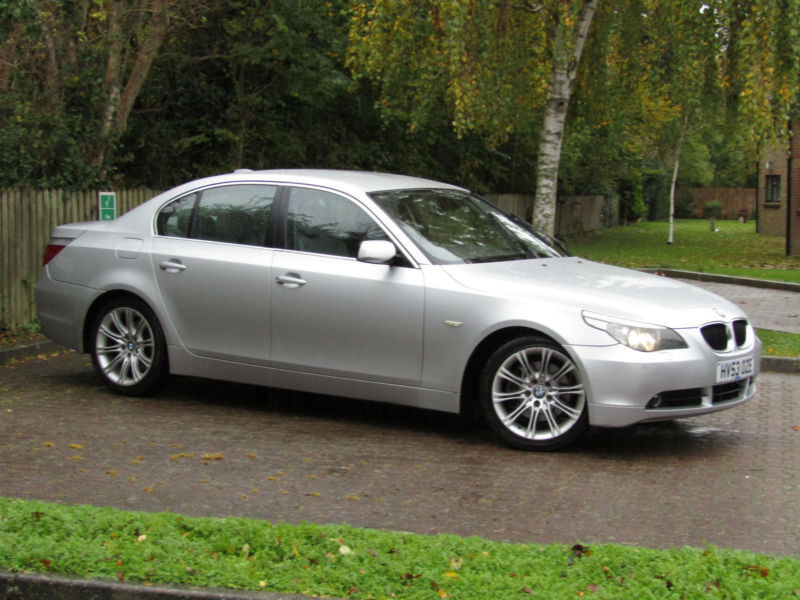 BMW 530 3.0TD AUTOMATIC SE**DIESEL**IMMACULATE**TOP OF THE RANGE**218BHP**