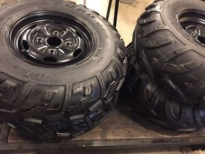 NEW ATV TIRES AND RIMS - (((( COMPLETE SET )))) Sarnia Sarnia Area image 4