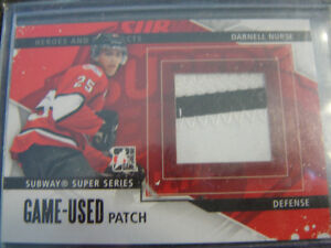 2013-14 Heroes And Prospects Patch Darnell Nurse card#SSM-14