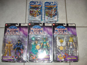 Brand New Medabots & Knights of the Zodiac Toy Figures!
