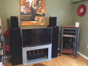 NUANCE N-100 TOWERS WITH HARMON KARDON RECEIVER